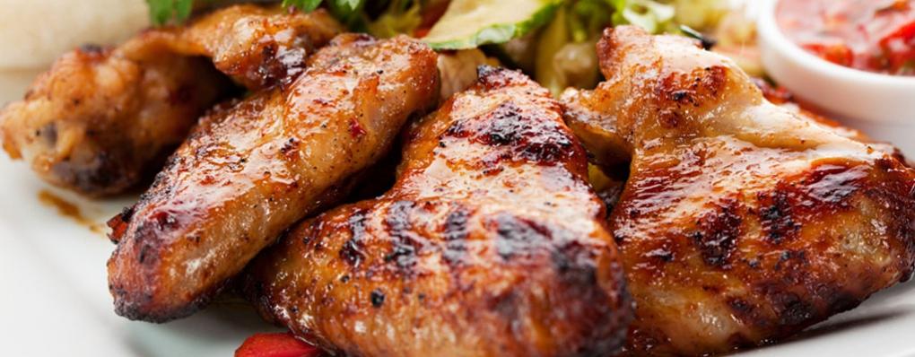 Chicken, the original white meat!