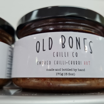 OLD BONES    SMOKED CHILLI CHURRI 170G – HOT