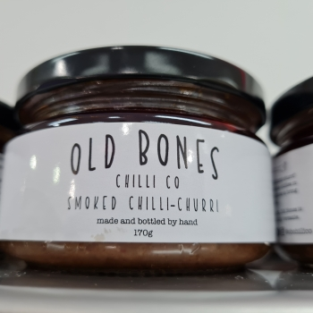OLD BONES      SMOKED CHILLI CHURRI 170G