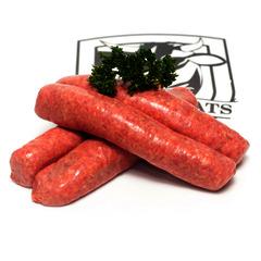 Bratwurst sausages 4 per pack